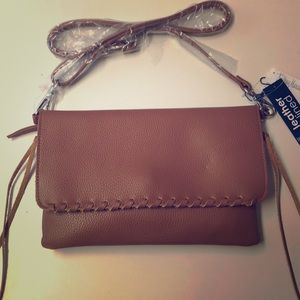 NWT Linea Pelle Crossbody Purse